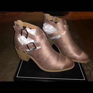 Qupid size 10 blush booties. Only tried on